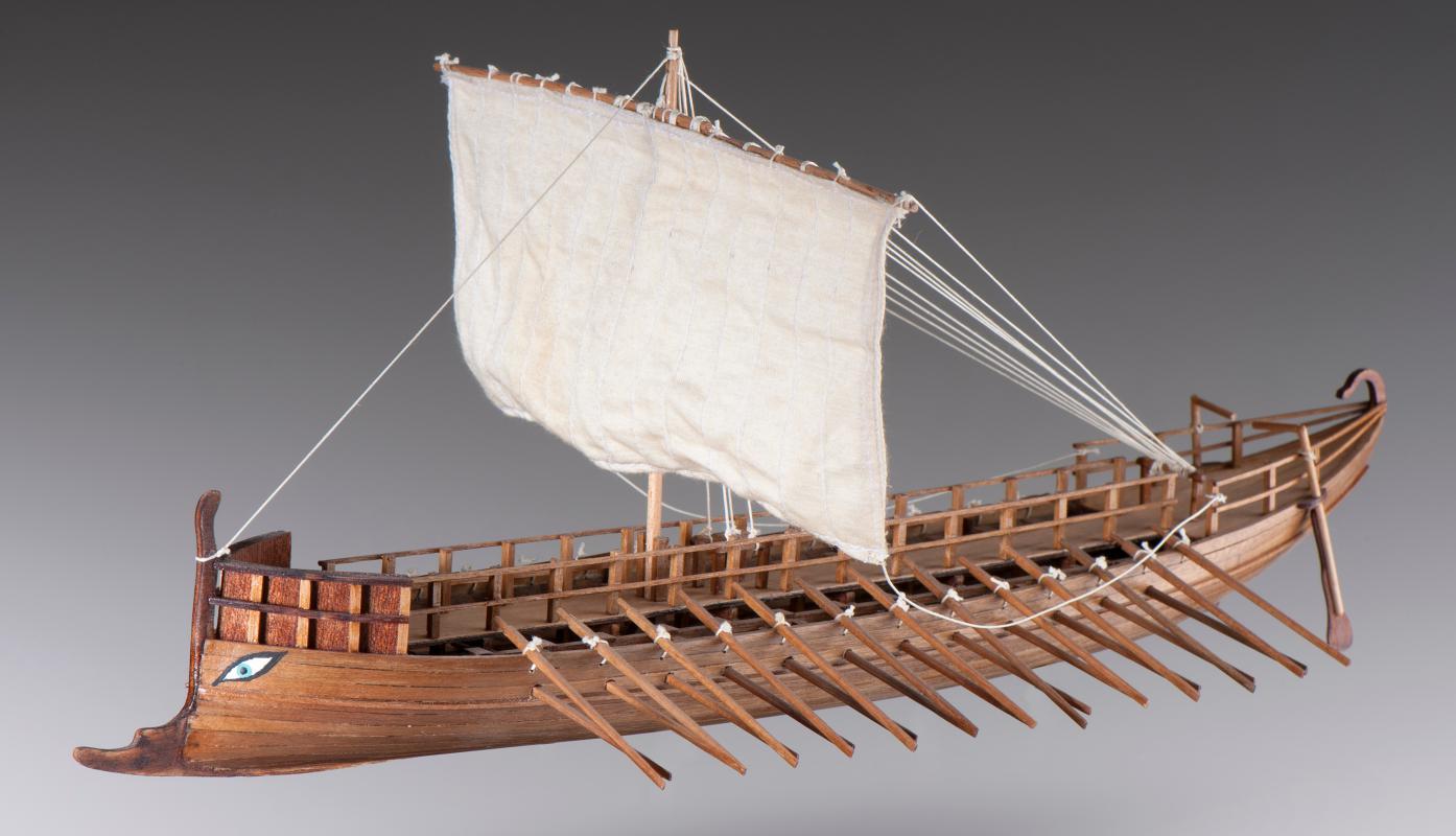 Ship Model Kit Building