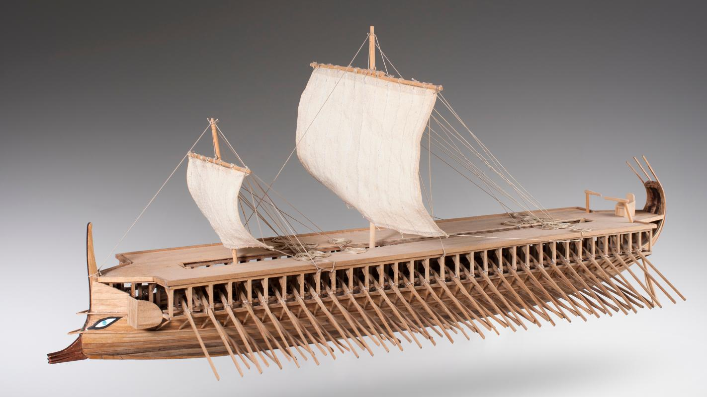 Greek Trireme - DUŠEK SHIP KITS