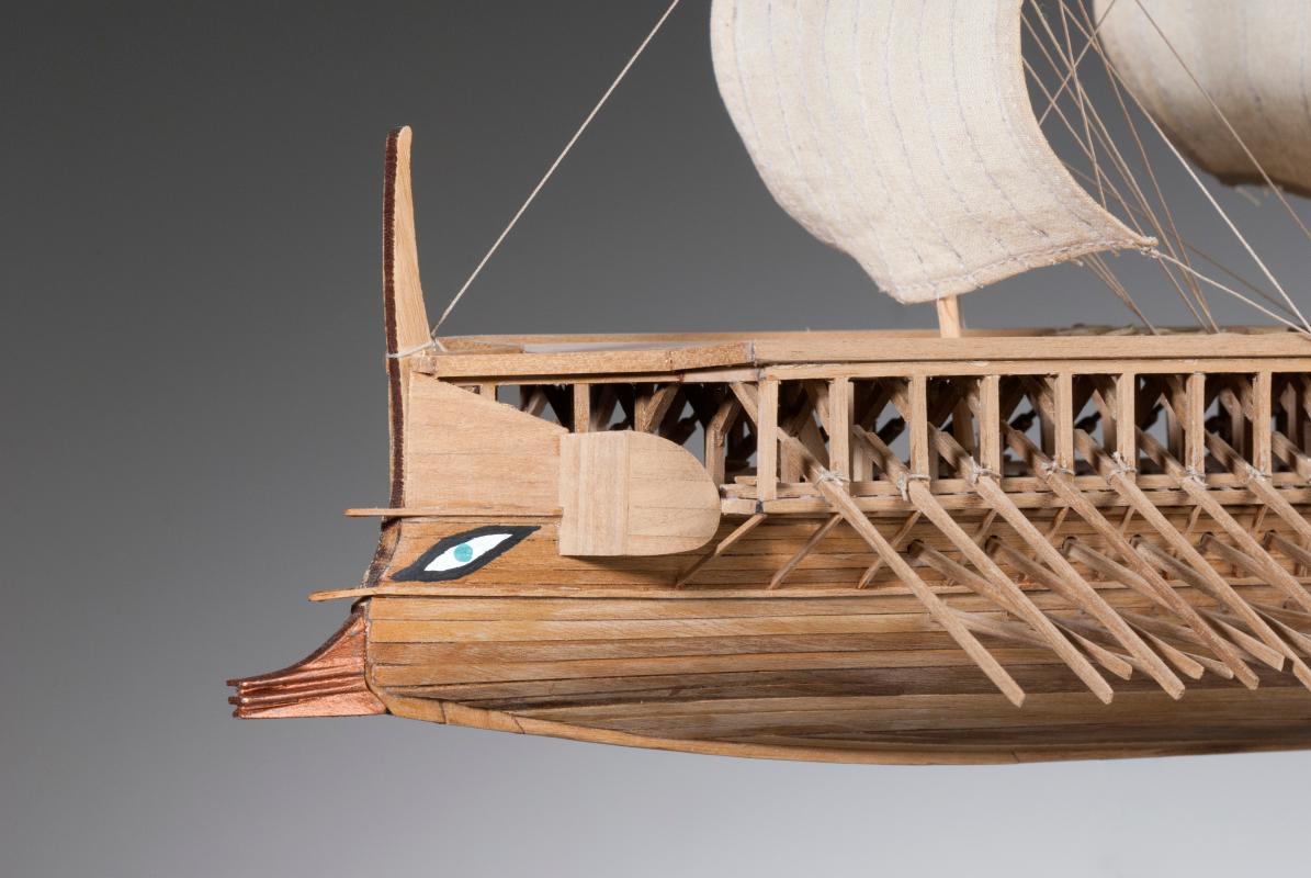 Greek Trireme Du Ek Ship Kits