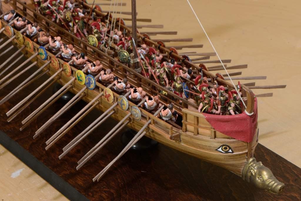 Photo Greek Bireme Du Ek Ship Kits